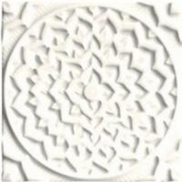 Adex Earth Relieve Mandala Cosmos Navajo White 15x15