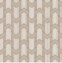 "Petracers Swing Decoro ""geometria"" in ottone su bianco matt 60x60"