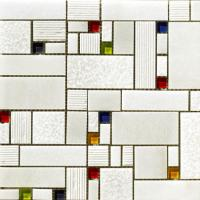 Vives Blanco Brillo Mosaico Taki Blanco 30x30