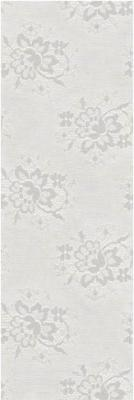 Vives Blanco Brillo jacquard 25x75